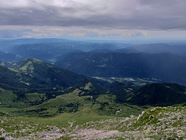 Blick vom Krn Triglav Nationalpark