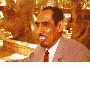 Sheikh Abdul-Aziz in Faraya, Libanon. Juni 1974. Foto: die Autorin