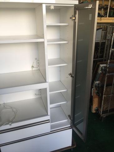 食器の収納部分