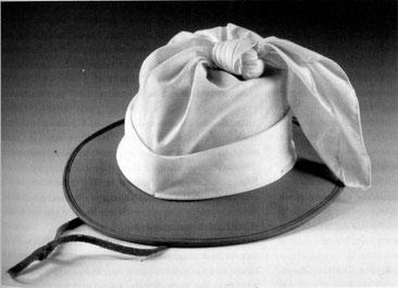 Hut eines Witbooi-Nama mit weißer Binde, 19. Jh