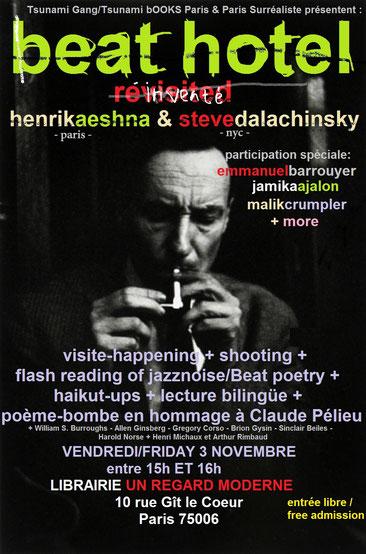 BEAT HOTEL avec HENRIK AESHNA & STEVE DALACHINSKY