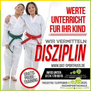 Kampfsport BLOG - Thema des Monats März 2019 in Friesoythe - DISZIPLIN