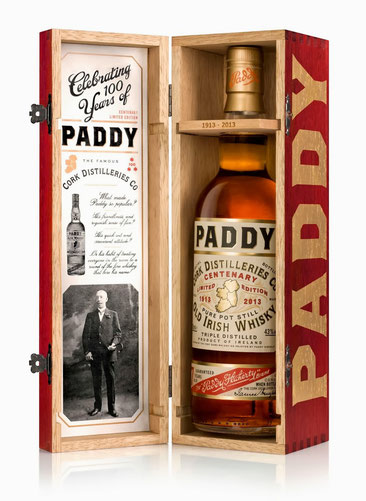 Paddy Centenary 7 Jahre Irish Whisky