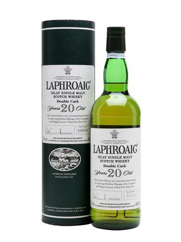 Laphroaig 20 Jahre Double Cask