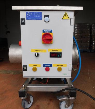 générateur de vapeur / constructeur SCIM Casteljaloux