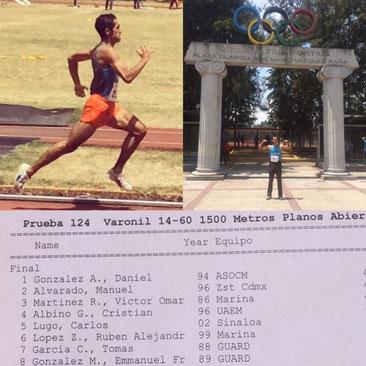 Tercer lugar en el comité olímpico mexicano