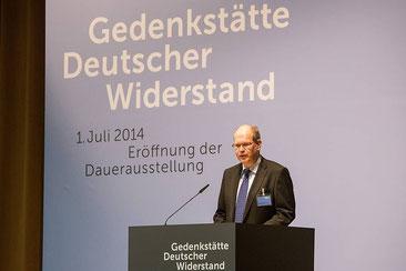 Prof. Dr.  Johannes Tuchel (57)  Leiter der Gedenkstätte Deutscher Widerstand