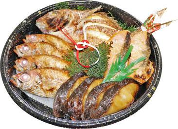 福井県あわら市の鮮魚店真洋水産のお持ち帰り商品