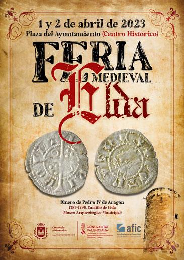 Programa de la Feria de Comercio Medieval en Elda