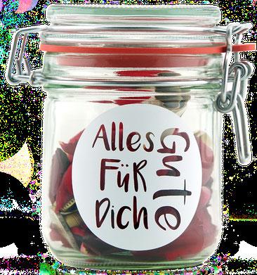 Geldgeschenk Gutscheinverpackung Geburtstag Alles Gute für Dich