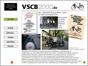 unsere website 2001