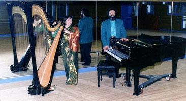 Shimon & Nehama REUBEN concert CHAVILLE december 1993