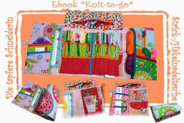 Ebook Knit-to-go Stricktasche Häkeltasche Handarbeitstasche