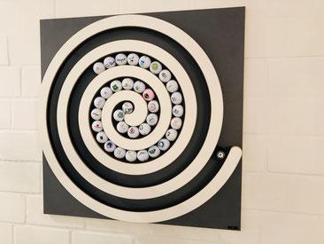 Die Spirale ist sehr schön. Ich bin total begeistert.  Viele Grüsse  (Maria N.)