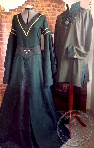 Hochzeitsgewand, Mittelalterkleid, Tunika