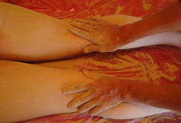 Udvartana, massage indien