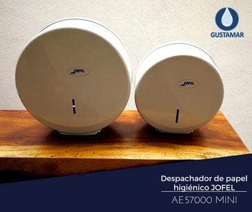 despachador de papel higienico jofel ae57000