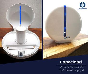 Despachador de papel higiénico jofel maxi