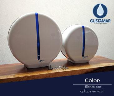Despachador de papel higienico jofel blanco