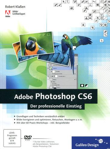 Robert Klaßen, Adobe Photoshop CS6 – Der professionelle Einstieg