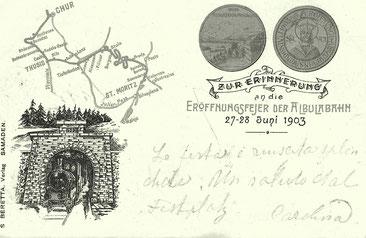 S. Beretta Samedan, gestempelt 28.06.1903