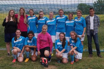 Meister 2014/15 der B-Juniorinnen der A-Liga Gießen-Marburg - der JFV Ebsdorfergrund