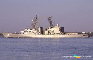 JMSDF Zerstörer YUGIRI DD-153