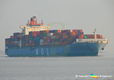 Containerschiff MOL EMPIRE