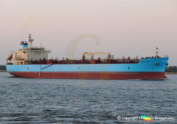 Tanker MAERSK CEBU