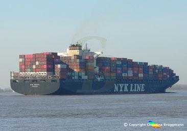 Containerschiff NYK VESTA
