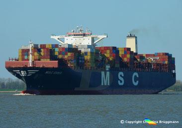 Containerschiff MSC EMMA