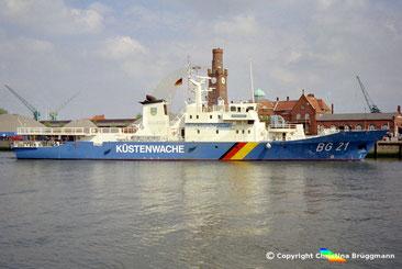 Grenzschutzboot BREDSTEDT BG 21