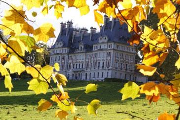 Château de Reinach - vue depuis le rucher école de La Motte Servolex