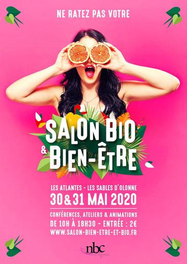 Salon bio et bien-être des sables d'Olonne - 30 et 31 mai 2020