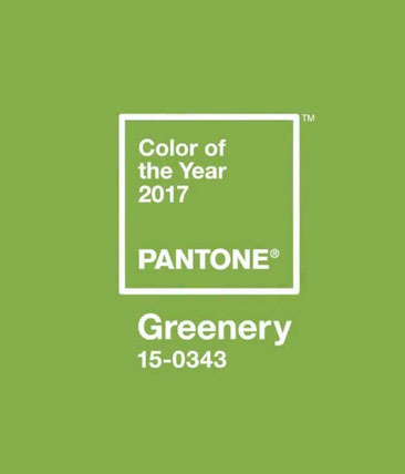 Pantone Greenery par EyeOnline agency service marketing externalisé