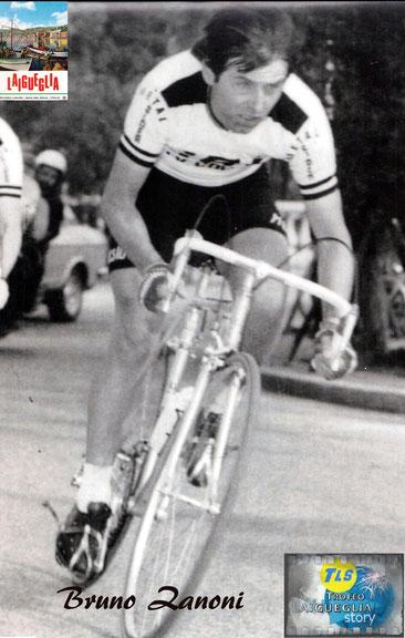 Foto courtesy: Archivio AVL, Bruno Zanoni in azione.