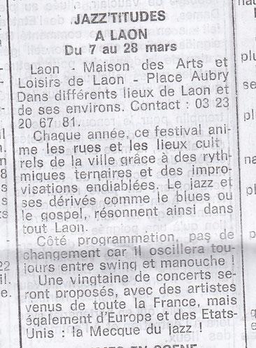 Le Démocrate de l'Aisne 6 mars 2015
