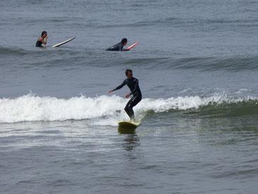 同じく3連休ガッツリと本日SK8でしごかれました!RZ~ これもサーフィン上達の為ですから、頑張って修正しましょうね!