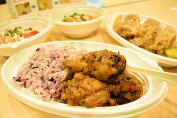 世界各国の料理も楽しめます。
