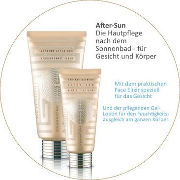 AfterSun zur Hautpflege nach dem Sonnenbad - Sun Collection