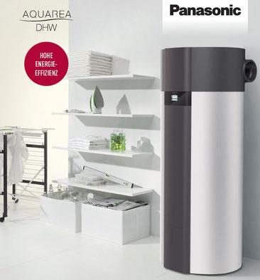 Panasonic Warmwasser Wärmepumpe ©Panasonic