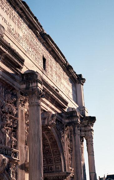 Analogue photo | Forum Romanum