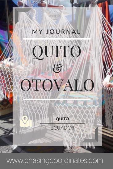 Quito & Otovalo Market