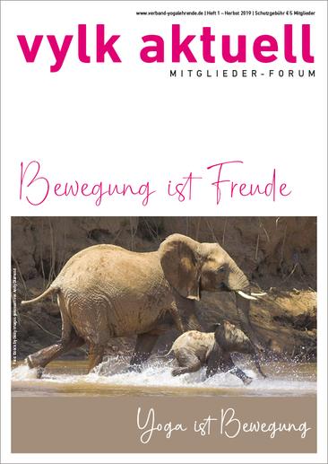 Magazin für Verband der Yogalehrenden im Kneipp-Bund