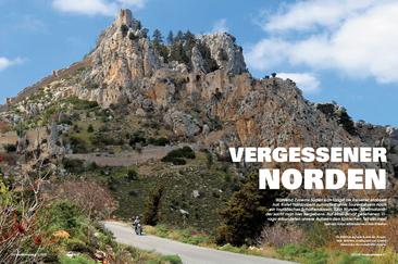 St. Hilarion auf dem Kamm des Besparmak. Beliebtes Ausflugsziel und Symbol fränkischer Herrschaft über Zypern.