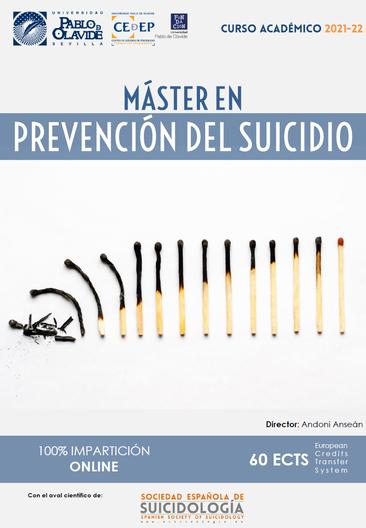 Máster en Prevención del Suicidio. Curso 2020-2021.