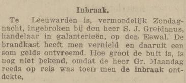 De courant 21-06-1910