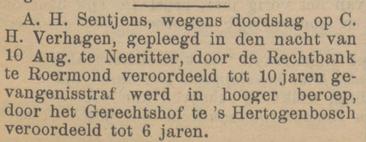 Venloosche courant 16-01-1904