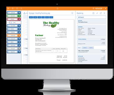 Online administratie / boekhouding (geautomatiseerd)