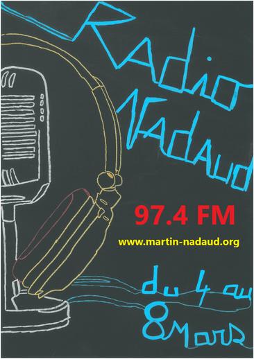 Découvrez les projets, les lycéens et les partenaires du lycée en écoutant Radio Nadaud ! Le lien est ci-contre.